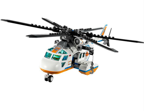 Lego Coast Guard Helicopter #5