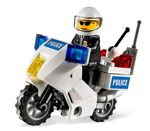 Lego Police Motorcycle #2