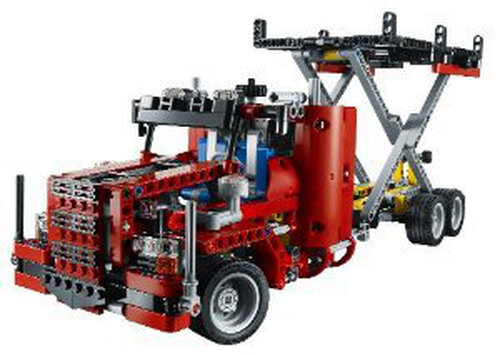 Lego Flatbed Truck #4