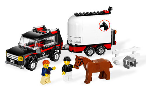 Lego 4WD with Horse Trailer #6