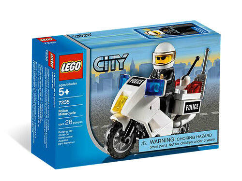 Lego Police Motorcycle #3