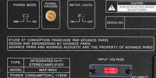 Advance Acoustic MAP 800 II - 3