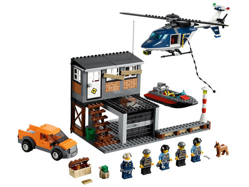Lego Helicopter Arrest #2