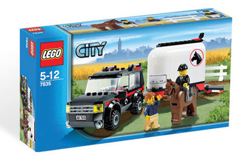 Lego 4WD with Horse Trailer #2