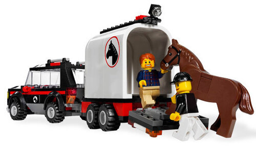 Lego 4WD with Horse Trailer #4